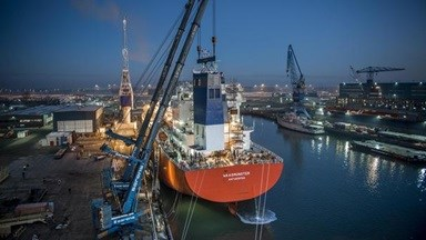 Green Solutions DSVlissingen scrubber installation