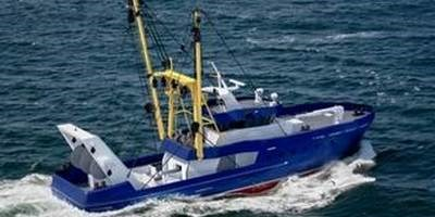 Damen Beam Trawler is fishing in a selective and environmentally friendly manner
