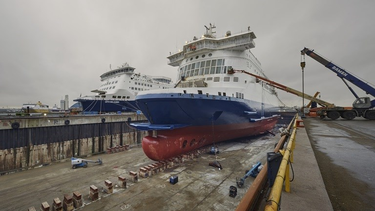 Damen Shiprepair Dunkerque Ferries