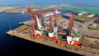 "Damen Shiprepair Dunkerque - ""MPI Resolution"""