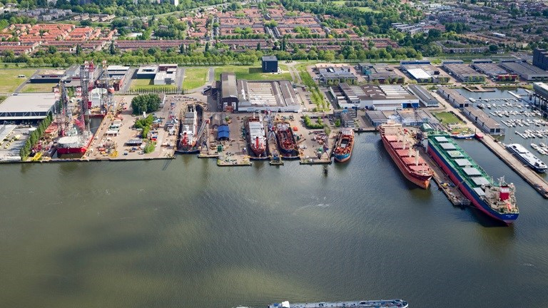 Shipdock Amsterdam nominated for triple certification