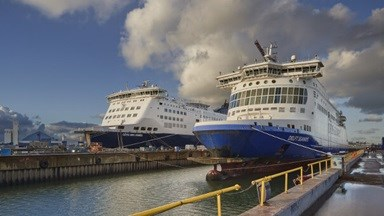 Damen Shiprepair Dunkerque is assisting DFDS Seaways in a major refit and rebranding programme, with five vessels successfully completed so far.
