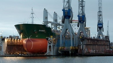 Four bulk carriers brought up to standard in two locations.