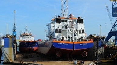 Maintenance and repair at Damen Shiprepair Vlissingen