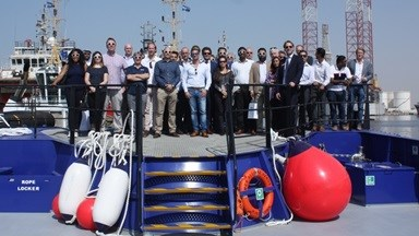 Industry professionals had the opportunity to visit Damen Shipyards Sharjah (DSSh) for the 'Damen Experience'