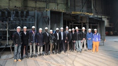 Niron Staal, part of Damen Shipyards Group, has performed a keel-laying ceremony of the hull of a passenger ferry