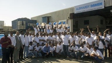 Albwardy Damen Fujairah celebrates 5 years free of lost time incidents