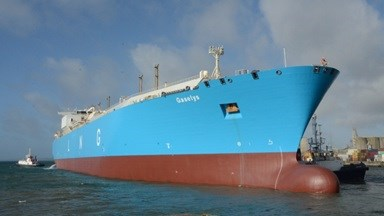 The ten-year old LNG carrier Gaselys came into DSBr for a regular periodical docking