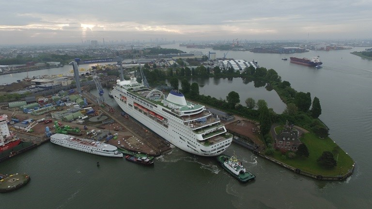 Damen Shiprepair Rotterdam to carry out maintenance and repair works on Columbus.