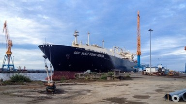 LNG carrier 'GDF Suez Point Fortin'.