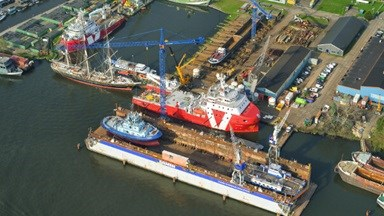 Damen Shiprepair Oranjewerf receives certifications