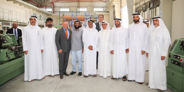 Albwardy Damen opens new ship repair facility