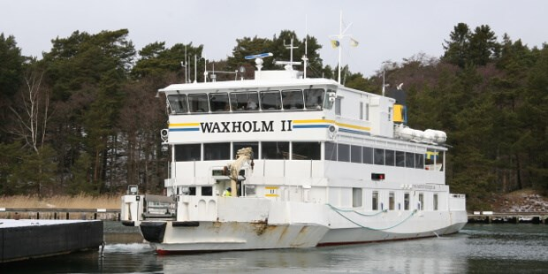 The lifetime extension project on the passenger ferry 'Waxholm II'