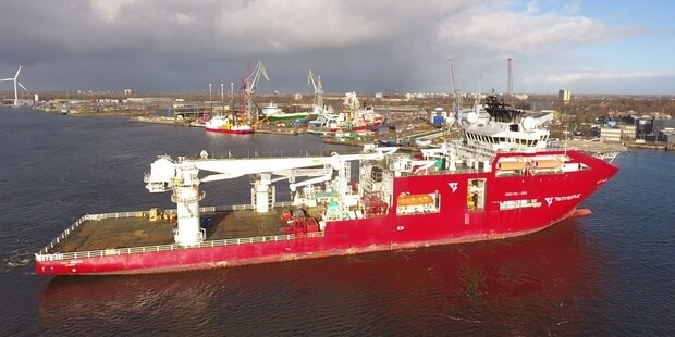 Diving Support Vessel 'Deep Arctic'