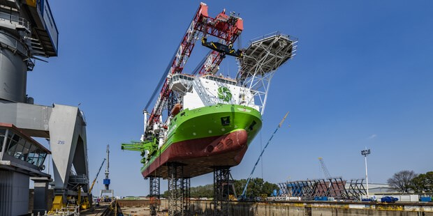 Heavy-lift jack-up vessel 'Innovation'