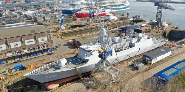 hnlms 'evertsen' at dsam (preview)
