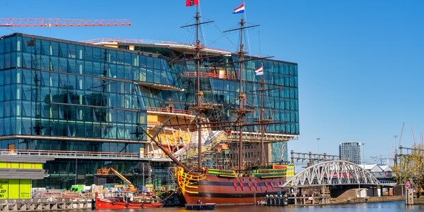 'voc amsterdam' maintenance project at damen yards (preview)
