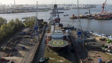 Damen Shiprepair Rotterdam (DSR) completed a complex refurbishment that included a complete upgrade of the accommodation