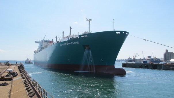 Damen Shiprepair Brest successfully completed upgrading the cargo containment and a full technical survey on the LNG vessel 'GDF SUEZ Global Energy'