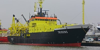 Research and acoustic survey vessel 'Tridens'