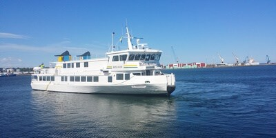 Damen Oskarshamnsvarvet was tasked to carry out a complete refit to the 1979 built passenger ferry 'Roslagen'