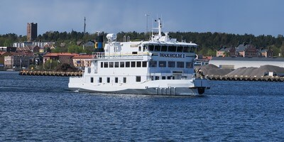 Ice going ferry 'Waxholm 1' receives an extensive refurbishment at Damen Oskarshamnsvarvet