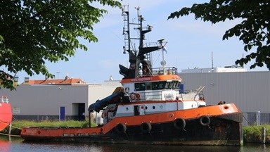 'MTS Victory' was built more than 40-years ago and returned to Damen Shipyards Den Helder for a major upgrade, general dry dock repairs and maintenance.