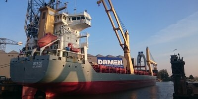 Communication & cooperation key to successful Combi-Freighter project at Damen Shiprepair Rotterdam