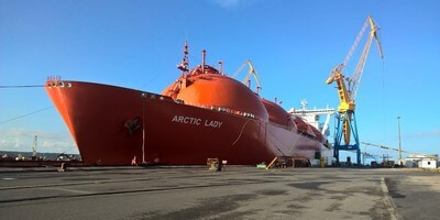 'Arctic Lady' and 'Arctic Princess' LNG Tankers at Damen Shiprepair Brest