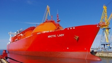 The 'Arctic Lady' and 'Arctic Princess' have been at the yard for scheduled maintenance works
