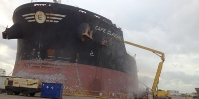 Empire Navigation's 'Cape Claudine' to enter Damen Shiprepair Dunkerque
