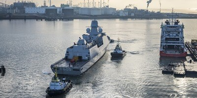 Royal Dutch Navy appoints Damen Shiprepair Vlissingen to replace the generators to four Air-defence and Command Frigates