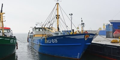 Repair and maintenance for Mussel Dredgers at Damen Maaskant Shipyards Stellendam