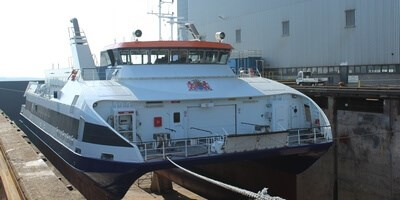 Damen Shiprepair Vlissingen has continued its good customer relationship with work to two passenger ferries operated by Westerschelde Ferry BV