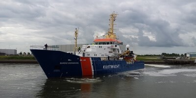 Special survey and maintenance works for Patrol Vessel 'Barend Biesheuvel'