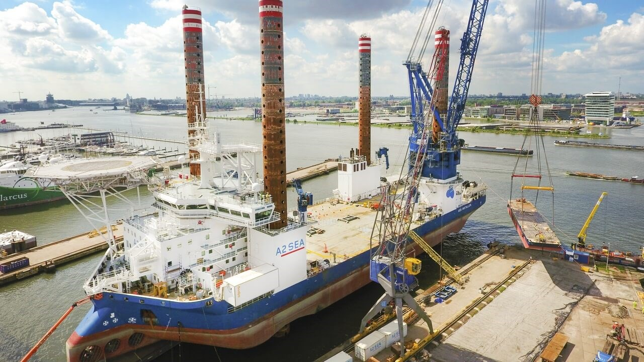 Jack-Up vessel modifications at DSAm