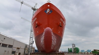 LPG carrier repairs and survey.