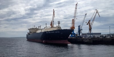 GDF Suez Point Fortin at Damen Shiprepair Brest