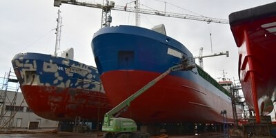 DSHl takes care of multiple vessels for Hermann Lohmann