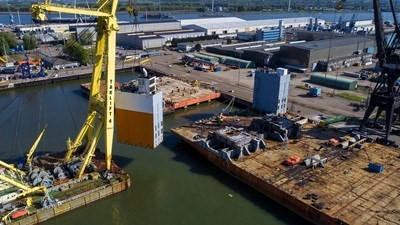 Reinstatement of semi-submersible heavy lift vessel 'White Marlin'