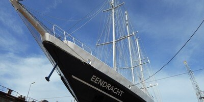 On 11 October 2018 the sail training vessel 'Eendracht' departed Damen Shiprepair Rotterdam