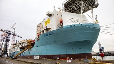 FPSO 'Aoka Mizu' repair and maintenance at Damen Verolme Rotterdam
