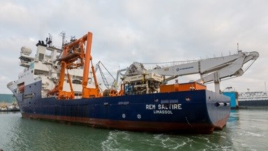 Subsea Construction Vessel 'REM Saltire' at DSV