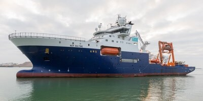 Subsea Construction Vessel 'REM Saltire' at Damen Shiprepair Vlissingen