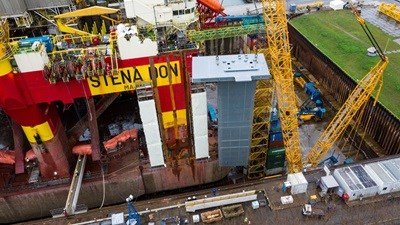 Drilling rig 'Stena Don' - refit project DVR