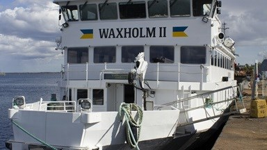 'M/S Waxholm II' refit and repair at Damen Oskarshamnsvarvet