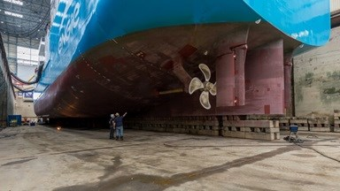 'Engie Zeebrugge' was the first LNG bunker ship in the world and is now less than three years old