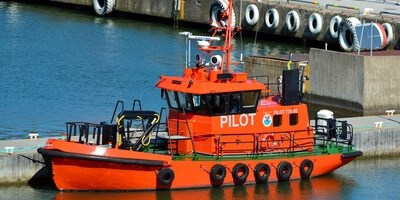 Pilot vessel maintenance and repair