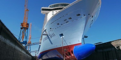 cruise 'anthem of the seas' maintenance at dsbr (preview)