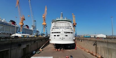 cruise 'explorer of the seas' maintenance at dsbr (preview)